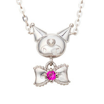 My Melody Sanrio White Clover Chromi Silver Necklace Pendant Kawaii - $193.27