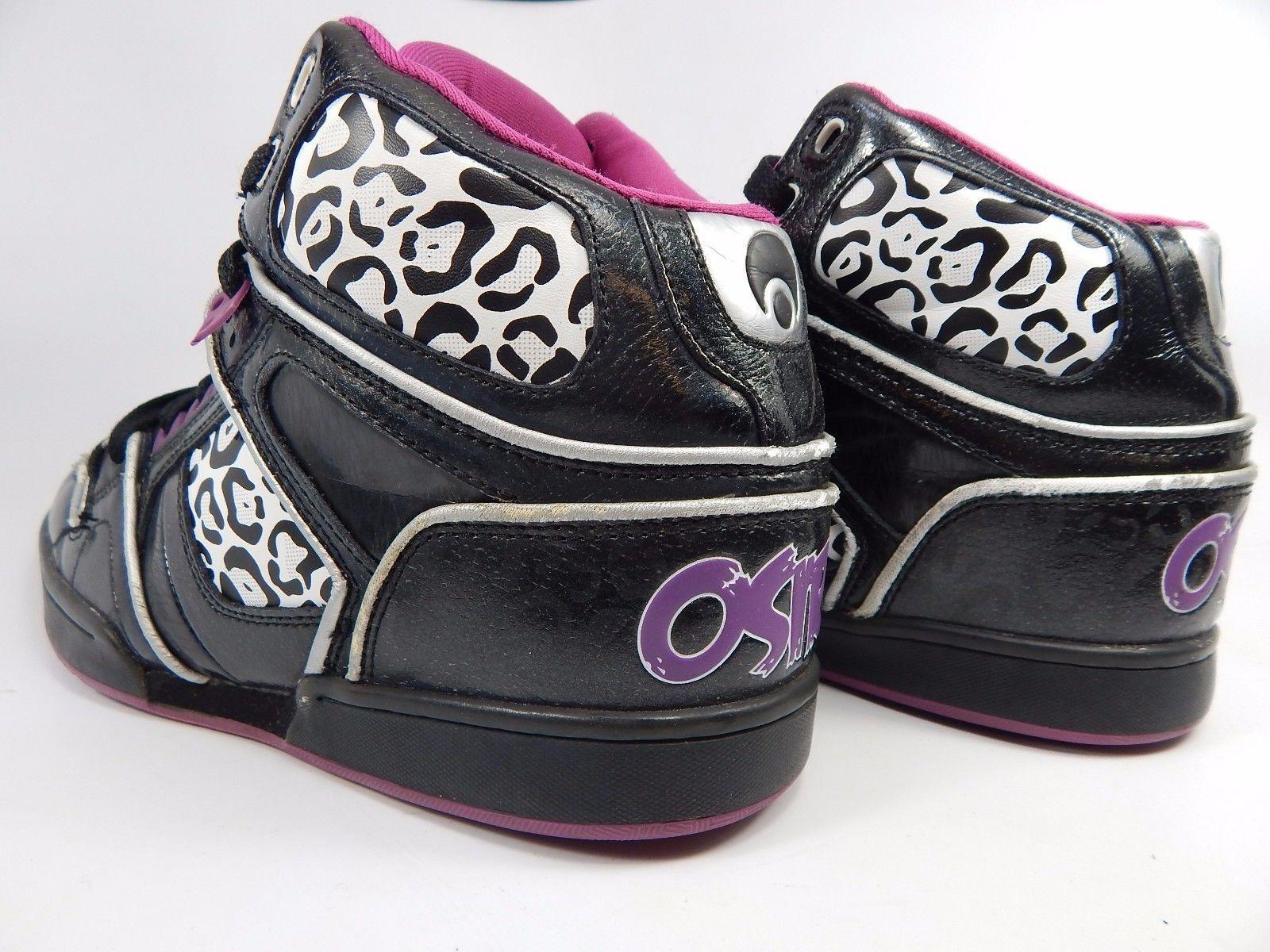 Osiris NYC 83 Slim Ultra Women's Skate Shoes Size US 10  M (B) EU 41.5 SLM Black