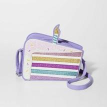 Girls' Birthday Cake Crossbody Bag - Cat & Jack, Multi-Colored - $12.38