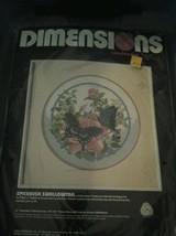 Vintage - Dimensions Needlepoint Kit (Spicebush Swallowtail) Beautiful - $27.71