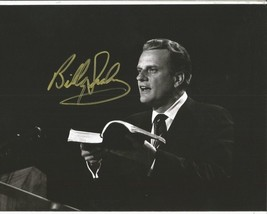 Reverend Billy Graham Signed Photo 8X10 Rp Autographed Picture - $19.99