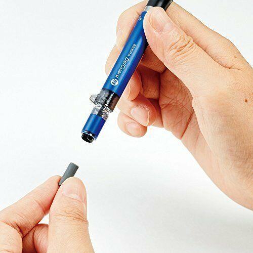 Zebra Mechanical Pencil Delgado type ER 0.5 Blue P-MA88-BL
