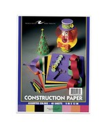 """Roaring Spring Construction Paper.  8 Assorted Colors per pack.  9"""" x 12... - $5.83"""