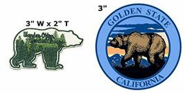 Wander Often Wander Always and Golden State National Park Series 2-Pack Embroide - $7.81