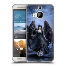 Official Anne Stokes Full Raven Soft Gel Case Compatible for HTC One M9+ - $27.47