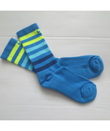 Nike Youth Performance Crew Socks - SX5815 - Light Blue - Size M - NEW - $6.99