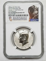 2019 S Kennedy  Apollo 11 NGC PF70 Enhanced Reverse Proof Coin Serial #s Vary