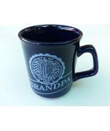 Marine Blue Tea Coffee Cup Mug GRANDPA Collection Beautiful Item  - $11.26