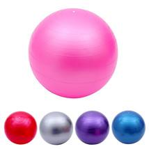 """22"""" Pink Exercise Yoga Ball with Pump,Pilates & Balance Training,Anti-burst&Slip - $19.98"""