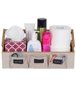 G.U.S. Bamboo Countertop Vanity Organizer for Makeup, Toiletries, Shampo... - $53.89