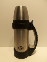 Thermos The Rock Work Series 1.1 Quart Stainless Steel Beverage Bottle CLEAN INT - $35.23