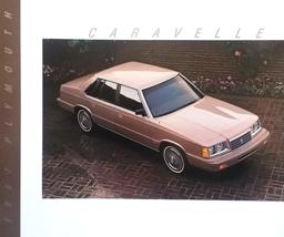 1987 Plymouth CARAVELLE sales brochure catalog US 87 SE Turbo - $6.00
