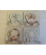 Coasters / Fridge Magnets - Pictures of  English Bone China Cup & Saucer... - $9.99