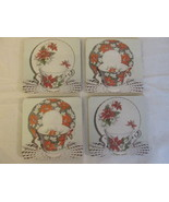 Christmas Themed Coaster / Fridge Magnets, Eng... - $12.00