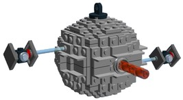BrickCrafts Build-Your-Own LEGO® Starkiller Base Ornament (Death Star III) - $27.95
