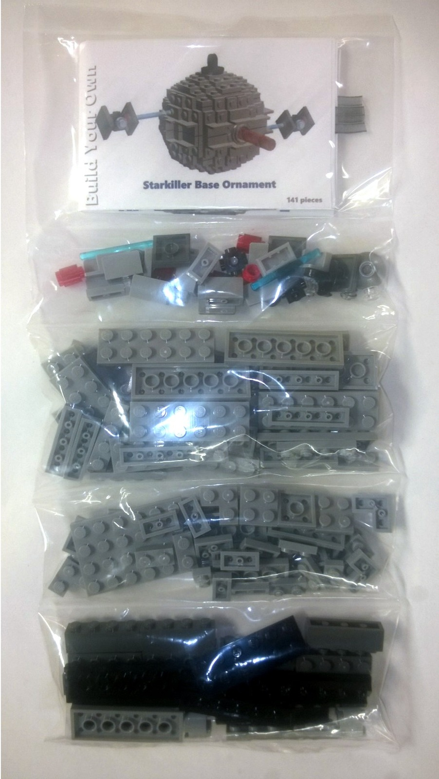 BrickCrafts Build-Your-Own LEGO® Starkiller Base Ornament (Death Star III)