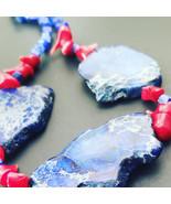 Natural Sea Sediment necklace - $33.15