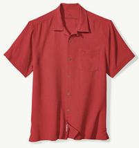 Tommy Bahama Big & Tall Royal Bermuda IslandZone Camp Shirt, Size 2XB, M... - $79.19