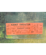 KRNT Theater Ticket From late 1960s to early 1970s Peter, Paul, And Mary - $14.99