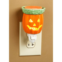 Halloween Jack O Lantern plug in wax melt warmer - $10.00