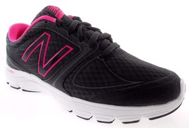 NEW BALANCE W575LB2 WOMEN'S BLACK/PINK CUSH+ RUNNING SHOES SZ 6.5D(WIDE) - $50.99
