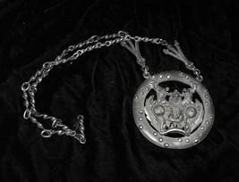 Metal Monster Medallion & Ashtray Made in Bolivia Tiahuanaco Jewels. - $22.99