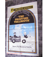 The Phantom Tollbooth Movie Poster Autographed by Butch Patrick - $36.99