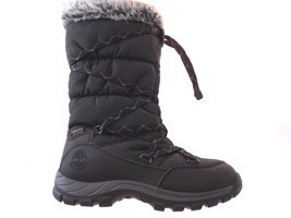 TIMBERLAND 2160R CHILLBERG WOMEN'S BLACK WATERPROOF INSULATED BOOTS SZ 7.5 - $1.499,29 MXN