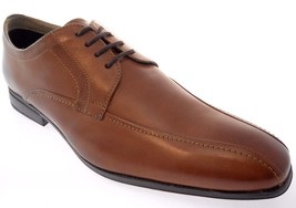 CLARKS GLEESON OVER MEN'S BROWN  LEATHER OXFORD DRESS SHOES SZ 9.5, #4132 - $71.99