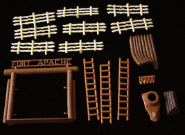 Marx Fort Apache Play set Vintage - $46.99