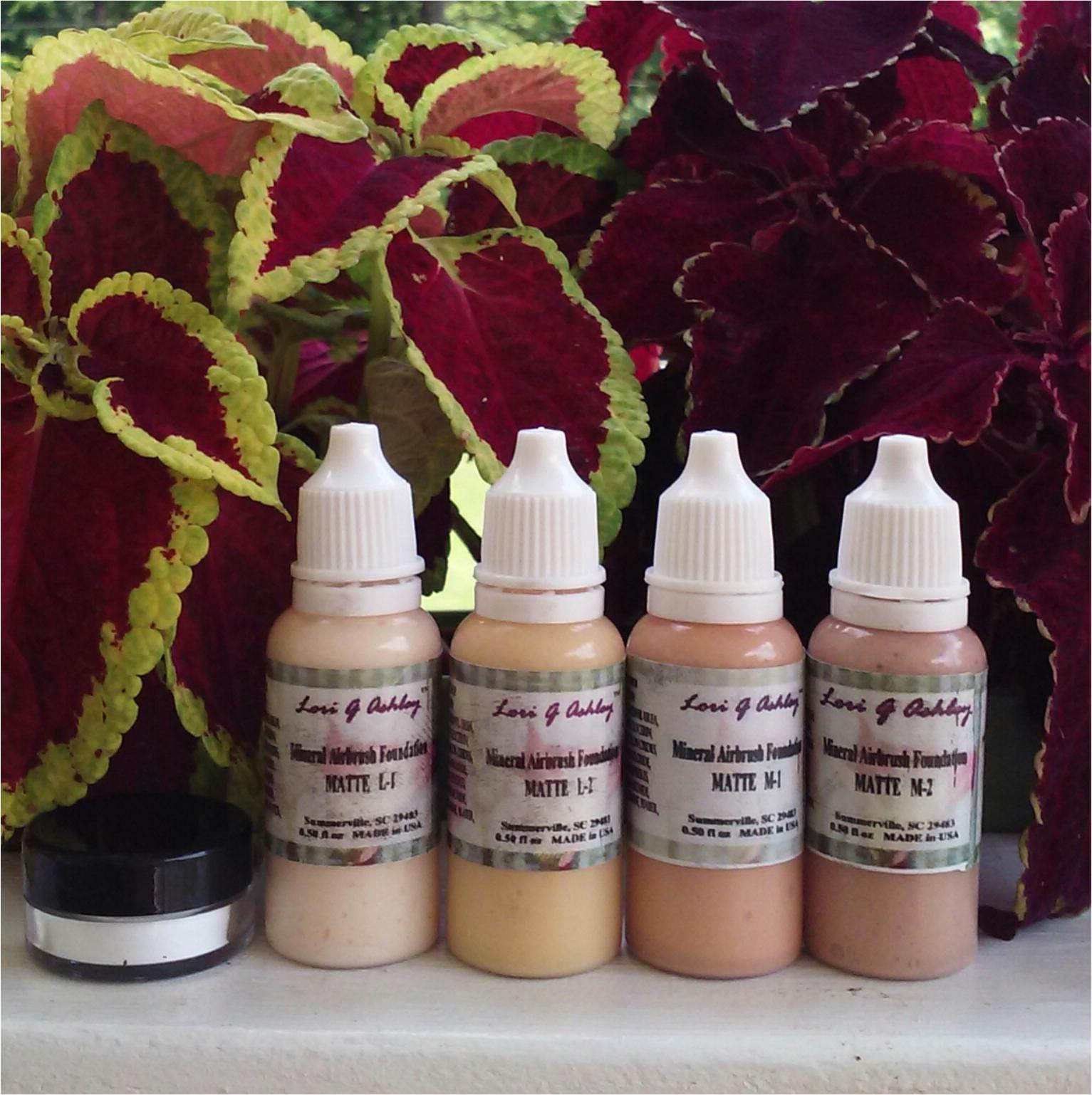 AIRBRUSH MAKEUP Kit w/free Finishing Powder choose color Lori G Ashley® - $30.00