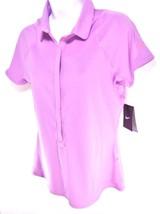 Nike Dri Fit Women's Short Sleeve Tennis Polo Shirt Sz M, #652608 552 - $29.39