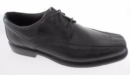 CLARKS MEN'S BLACK LEATHER OXFORD DRESS SHOES SZ 9, #71729 - $89.99