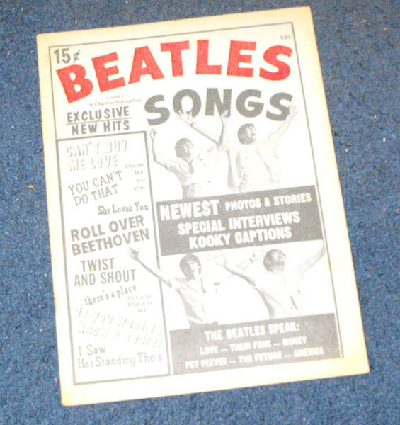 Beatles Songs #3 Charlton Magazine 1964 rare