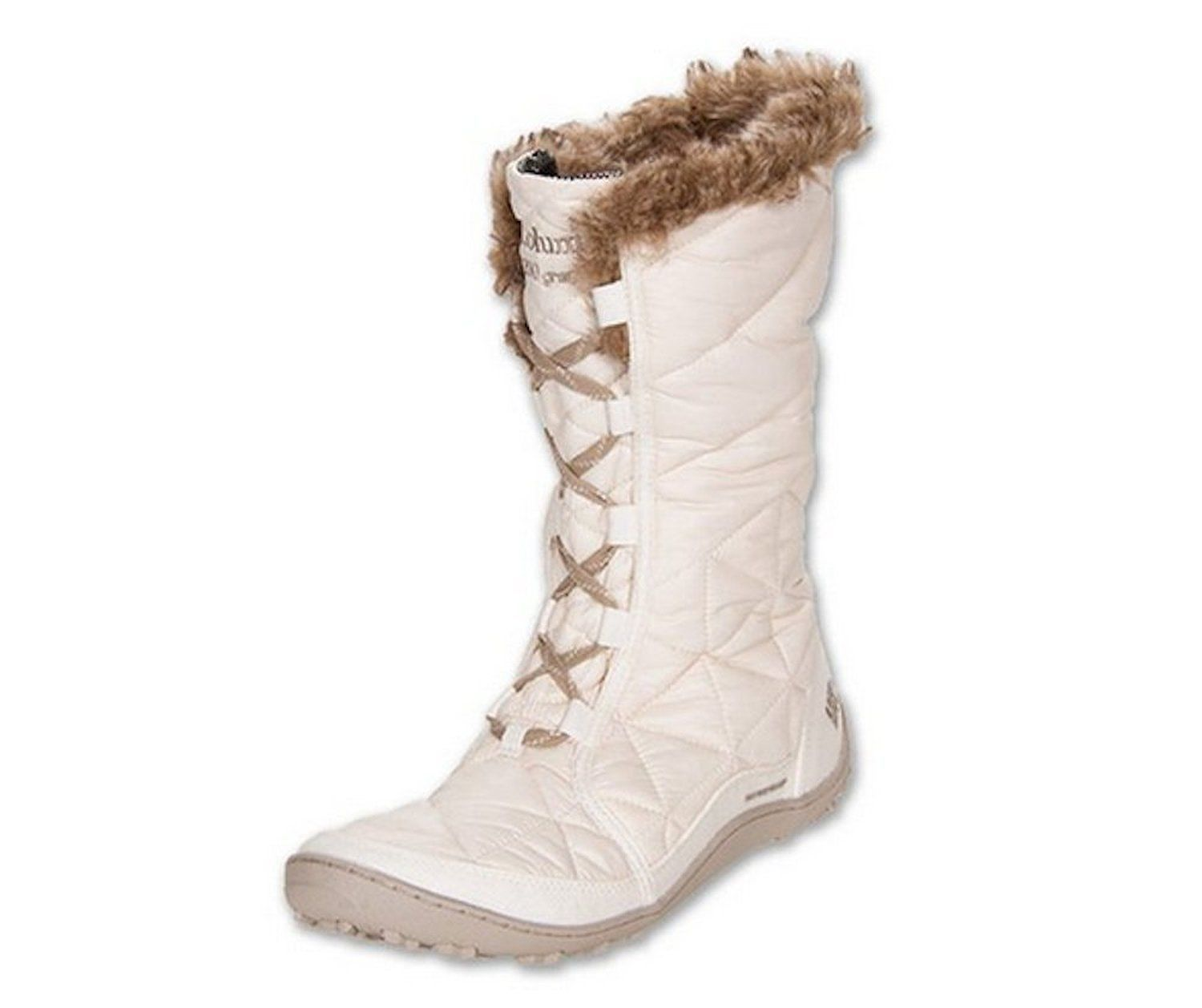 Primary image for COLUMBIA POWDER SUMMIT OMNI-TECH WOMEN'S IVORY WATERPROOF BOOTS 9.5, #YL5164-139
