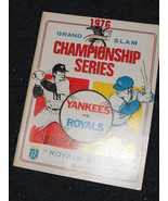 NY Yankees KC Royals 1976 Championship series p... - £20.71 GBP