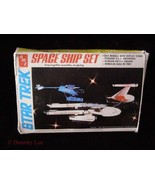 Star Trek Space Ship Set Model AMT 1983 USS Ent... - £20.71 GBP