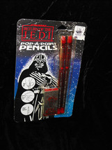 Star Wars Return Of The Jedi Pop A Point Pencils 1983 New Butterfly Orig... - $16.99