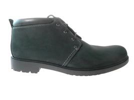 Clarks Oakdale Boot Men's Black Nubuck Waterproof Boots Size 13, #62190 - $58.49