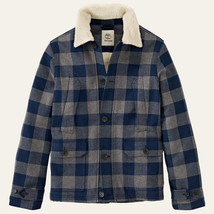 TIMBERLAND MEN'S MT.HAYS BUFFALO PLAID BLUE JACKET SZ M, #8169J-039 $219. - $127.49