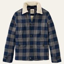 TIMBERLAND MEN'S MT.HAYS BUFFALO PLAID BLUE COAT JACKET Size M, #8169J-0... - $86.99