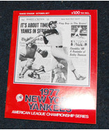 1977 New York Yankees AL Championship program - £20.71 GBP
