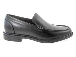 ROCKPORT APM13031 BLACK MEN'S LEATHER SLIP-ON SHOES SZ 7.5 - $77.99