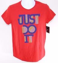 Nike Loose Fit Men's Red Short Sleeve T Shirt Sz L, #574745 611 - $18.74