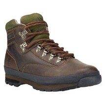 TIMBERLAND 6534A CLASSIC LEATHER MEN'S DK BROWN EURO HIKER BOOTS - $101.15