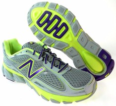NEW BALANCE W1550GP1 WOMEN'S GREY/PURPLE RUNNIN... - $59.49
