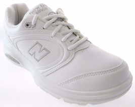 NEW BALANCE WW812WT WOMEN'S WHITE WALKING SHOES... - $59.49