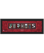 Personalized St. John's University Red Storm Campus Letter Art Print - $39.95