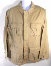 TIMBERLAND  RUGGED KHAKI MILITARY JACKET SZ M, #2842J-918 $168. - $76.99