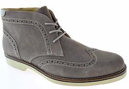 Bass Baltimore Men's Grey Suede Wingtip Boots, #2768 010 - $74.99